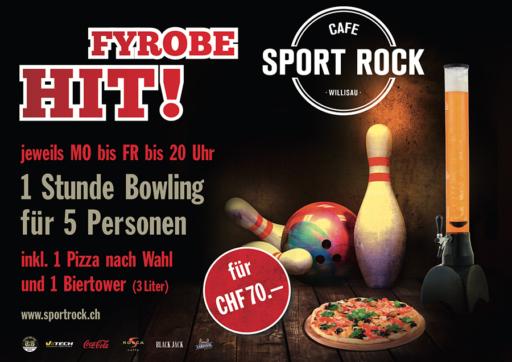 Fyrobehit SPORT ROCK Bowling