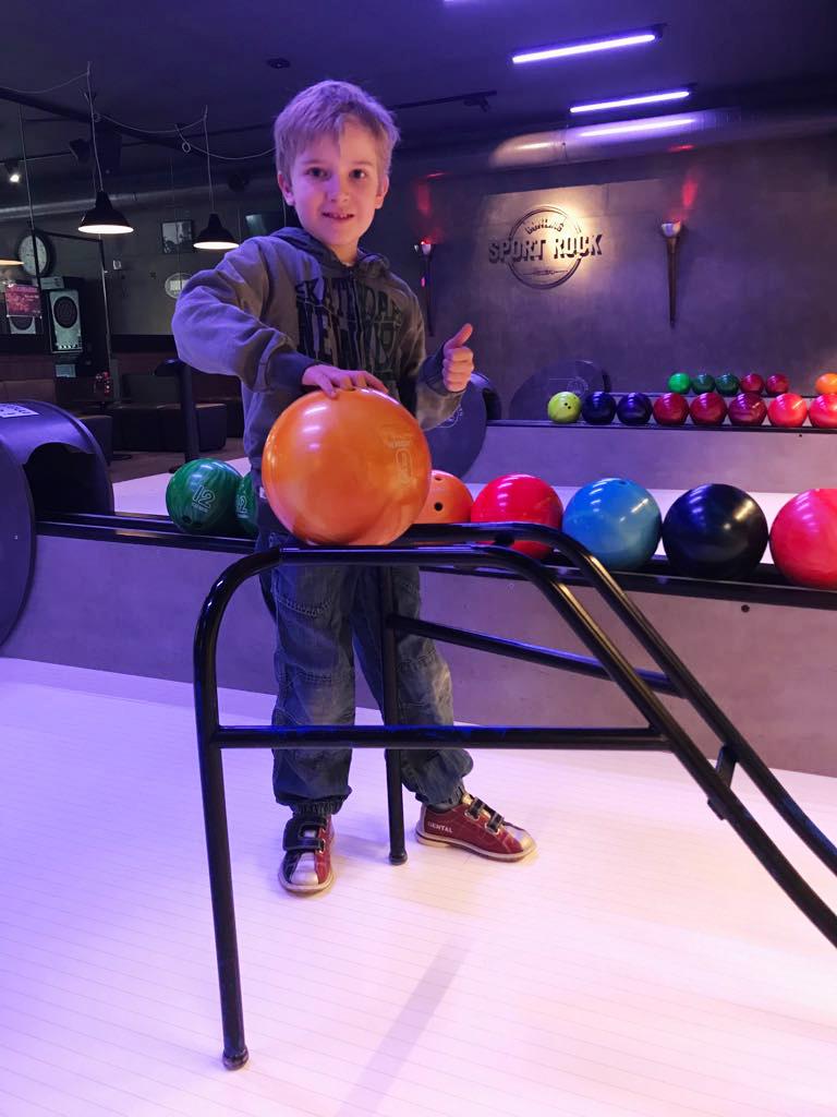 Bowling Sport Rock Spielhilfe
