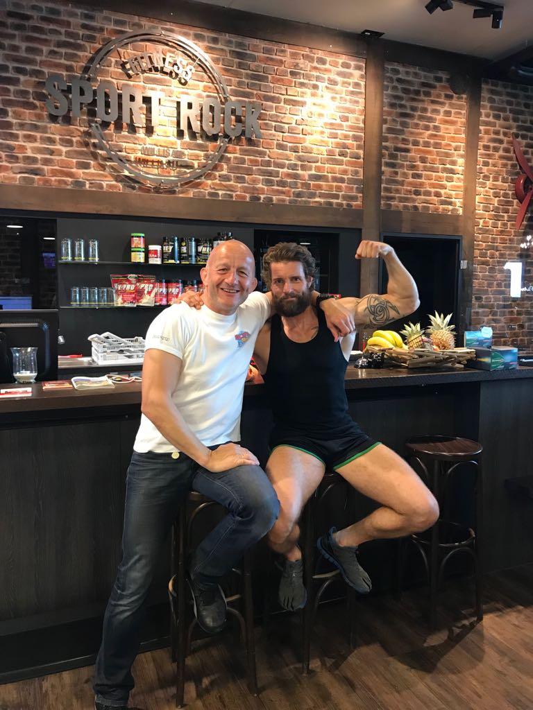 SPORT ROCK Wilhelm Tell Damien Puckler Fitness